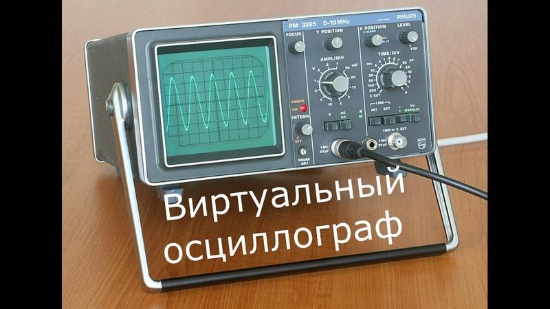 Виртуальный осциллограф Soundcard scope