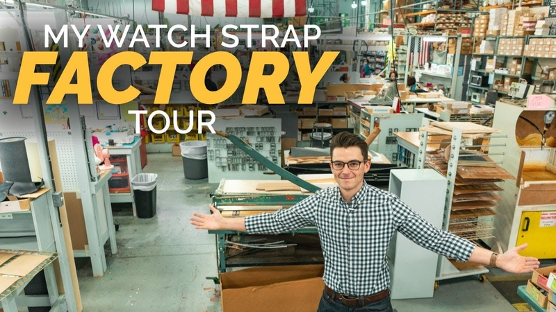 Touring Our Watch Strap Factory How Watch Straps Are Made