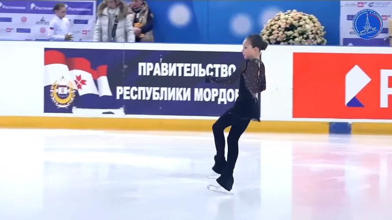 Таисия ЩЕРБИНИНА ПП 13.3.2021 Всероссийские соревнования Мемориал С.А. Жука(Саранск)