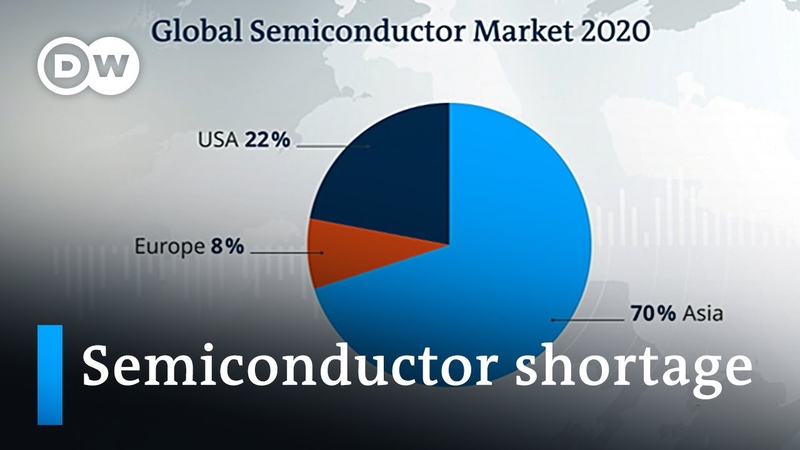 Microchip shortage is slowing down the global economy DW News