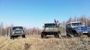 УАЗ на портальных мостах Т40. Новокузнецк, 2021г, шпионская съемка