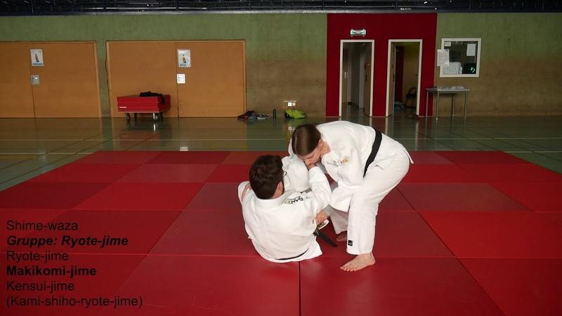Judo Gruppe Ryote jime Ryo te jime ZZD2 No 25