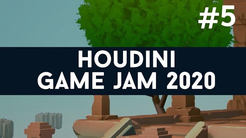 Houdini GameJam 5 Zero grace XenOVERun