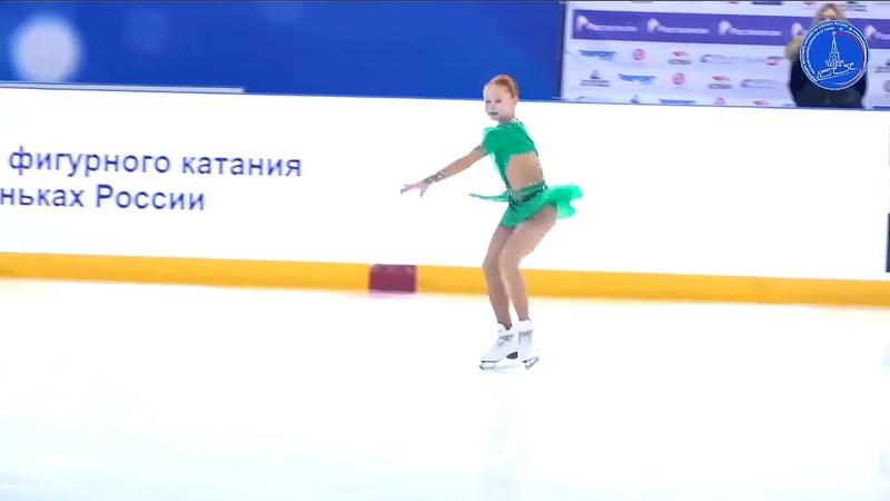 Александра ЧАТКИНА ПП 13.3.2021 Всероссийские соревнования Мемориал С.А. Жука(Саранск)