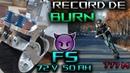 Record BURN en Trottinette Electrique Weped SS BURNOUT