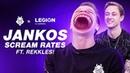 Jankos Scream Rates ft. Rekkles! G2 x Legion by Lenovo