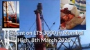Offshore Life - Incident LTS 3000 Vessel During Cluster and Jacket Installation ONGC Mumbai High