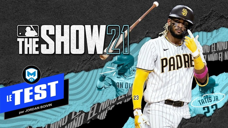 TEST du jeu MLB The Show 21 - PS5, Xbox Series, PS4, Xbox One