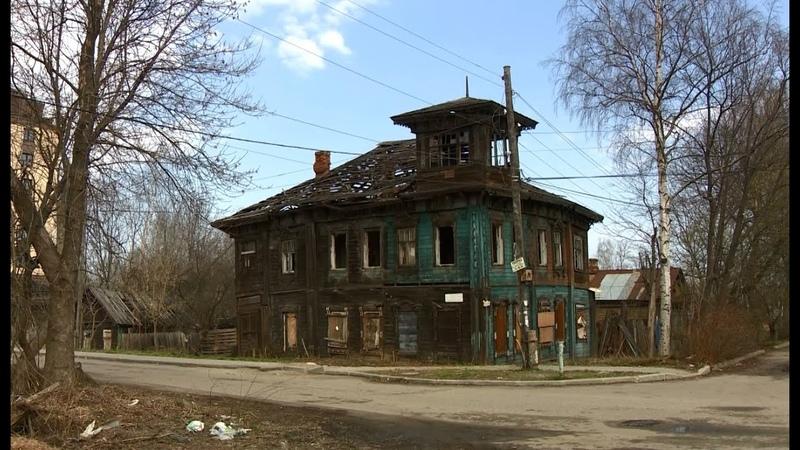 Дом со штурвалом в Ярославле погибает когда-то самое красивое здание Красного Перекопа