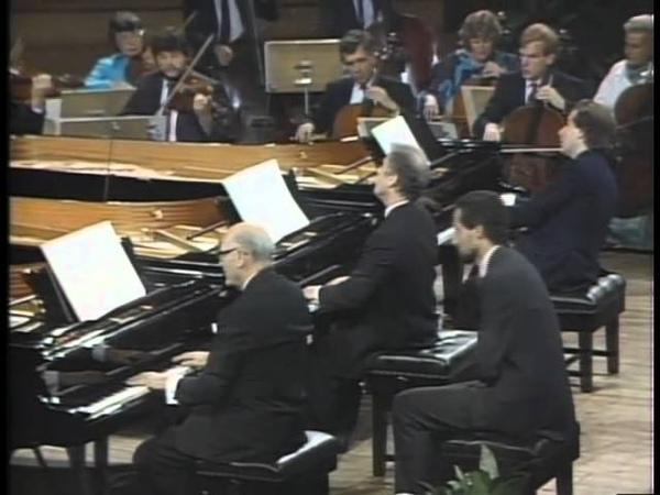 Mozart Concertos K242 Solti, Schiff, Barenboim