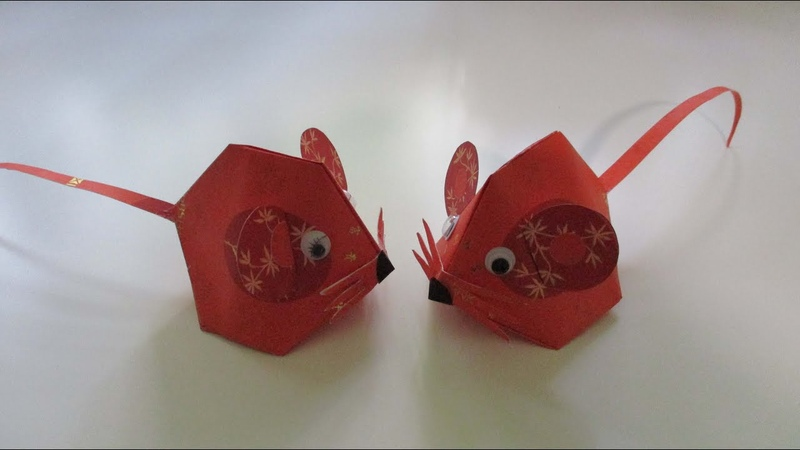 CNY TUTORIAL NO 105 HONGBAO MOUSE YEAR OF THE RAT