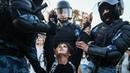ЖЕСТЬ ИЗБИЕНИЕ ОМОН избивает человека по голове, драка, протесты в России жестокость