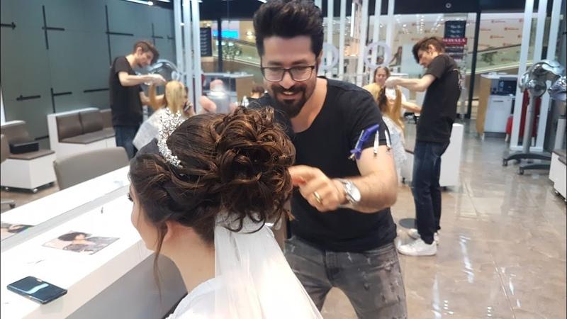 Gelin Saçı Topuz Tasarımı Nasıl Yapılır
