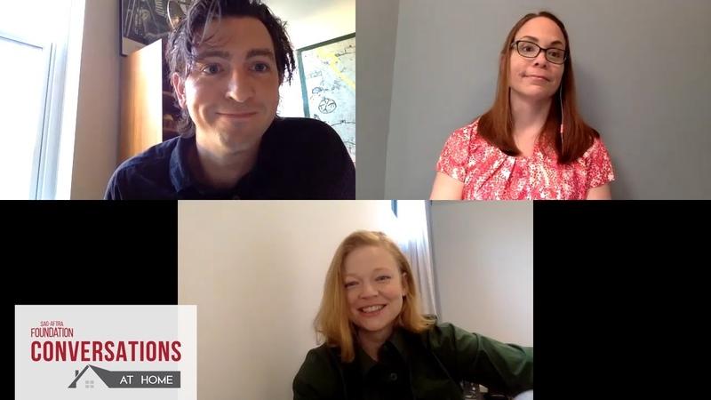 Conversations at Home with Sarah Snook Nicholas Braun of SUCCESSION
