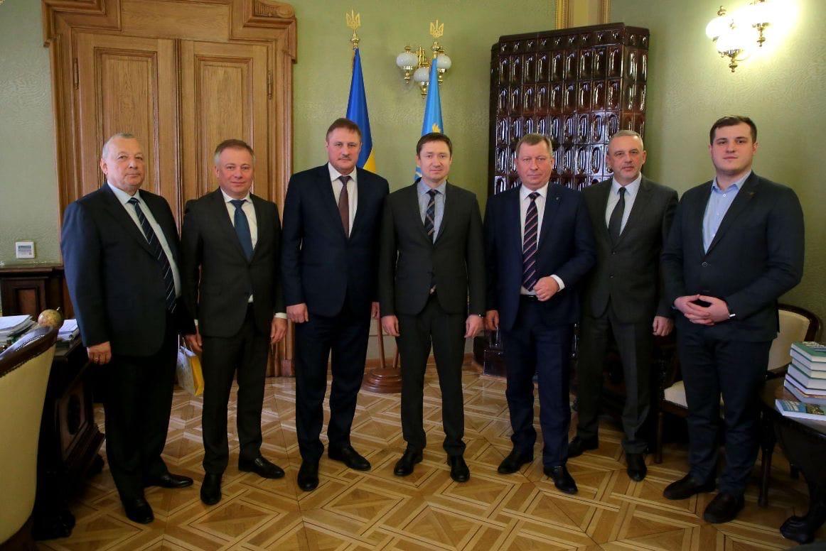 Состоялась встреча делегации Брестской области и руководства Львовской области