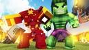 Minecraft сериал Железный Человек 1 сезон 12 серия Железный Человек и Халк провив мерзости