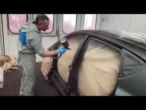 Кузовной ремонт Полная окраска Hyundai Solaris