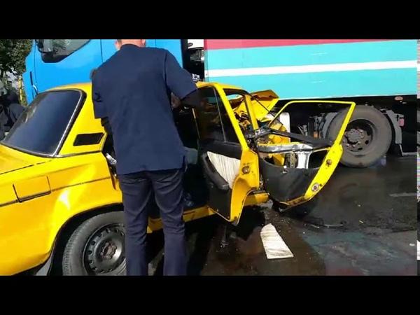 Дніпропетровська область рятувальники деблокували водія з понівеченого легковика