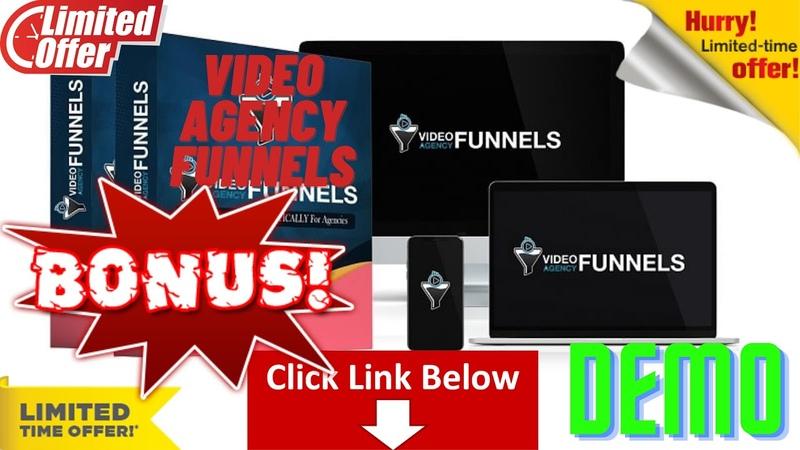 Video Agency Funnels Walkthrough Demo - Review - OTO - Best Bonus