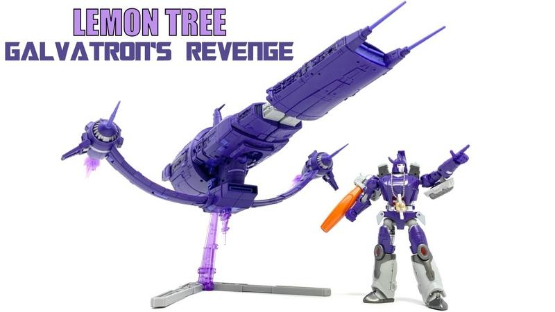 Lemon Tree LT 03 Shockwave Purple Potato Transformers 1986 Galvatrons Revenge Review