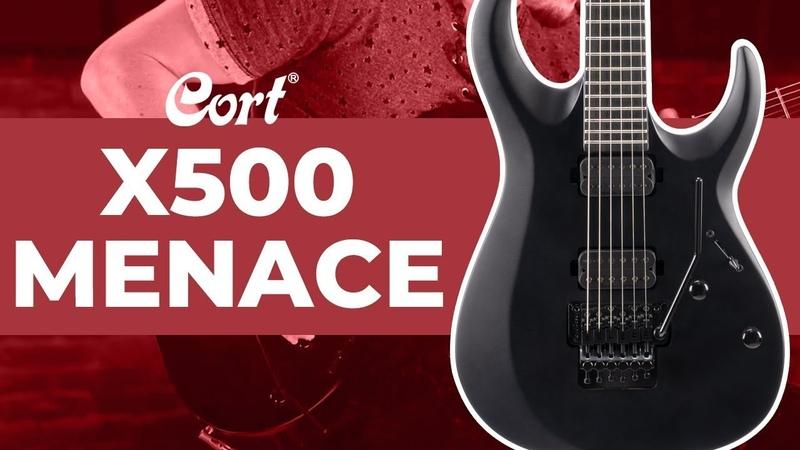 ⭐Новинка 2021⭐ X500 Menace Серия X Электрогитара Cort