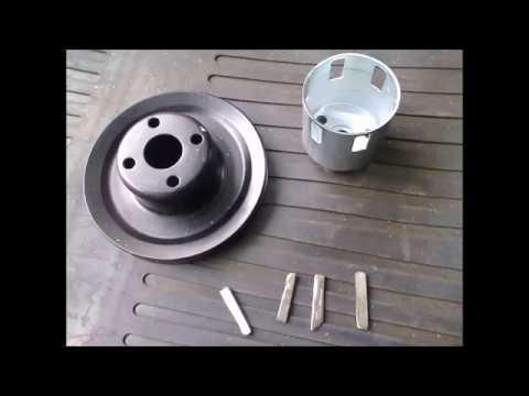 шкив и генератор на двигатель мототрактора