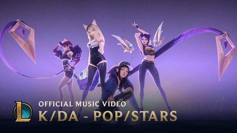 KDA - POPSTARS (ft. Madison Beer, (G)I-DLE, Jaira Burns) | Music Video - League of Legends