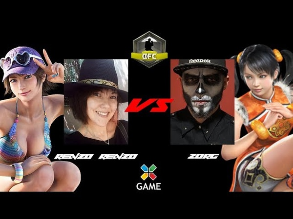 Renzo Renzo Miharu Hirano vs ZorG Ling Xiaoyu RFTS 1