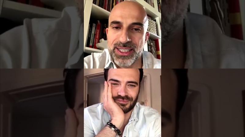 Giulio Berruti e le sue passioni coltivate in quarantena GQ TELEFONO CASA GQ Italia