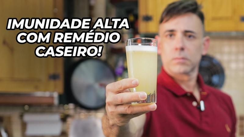 REMÉDIO CASEIRO PARA DESINFLAMAR O CORPO E AUMENTAR A IMUNIDADE Dr Dayan Siebra