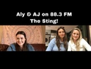 Aly AJ Interview on 88.3 fm The Sting