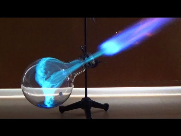 Chemistry experiment 55 Whoosh bottle