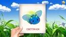 Насекомые - Карточки Домана Раннее развитие для детей 0