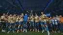 Игроки и фанаты «Зенита» заряжают с кубком чемпионов России