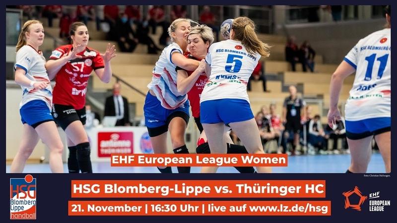 EHF HSG Blomberg Lippe Thüringer HC
