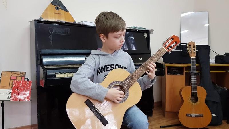 Белоснежка на гитаре О Копенков