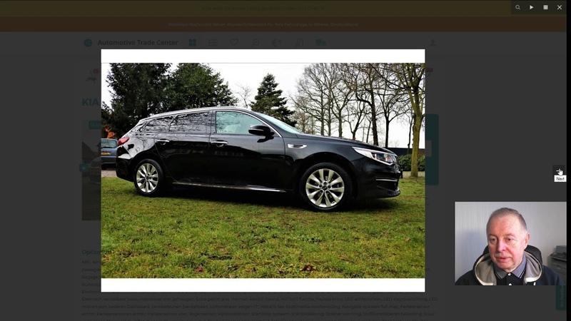 Купили на аукционе Kia Optima Sportswagon 1 7 CRDI DynamicLine 2017 г по цене на 4000 € ниже рынка