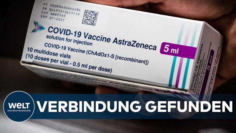 ASTRAZENECA EMA-Vertreter sieht Verbindung zwischen Impfung und Hirnthrombosen | Eilmeldung