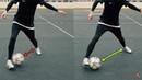 КАК СДЕЛАТЬ ФИНТ ЭЛАСТИКО! ОБУЧЕНИЕ Football Skills Tutorial Elastico