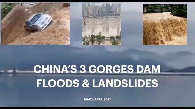 CHINA'S 3 GORGES DAM FLOODS LANDSLIDES