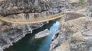 The Last Inca Rope Bridge Called Qeshwachaqa Near Cusco In Peru