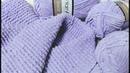 Вяжем домашний банный халат спицами из плюшевой пряжи. Справится даже новичок. МК. Часть 1