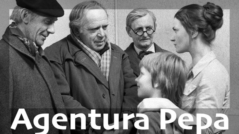 Agentura Pepa TV film ● Komedie Československo 1976