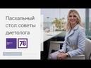 Диетический пасхальный кулич. Советы диетолога Инны Кононенко. 78 ТВ