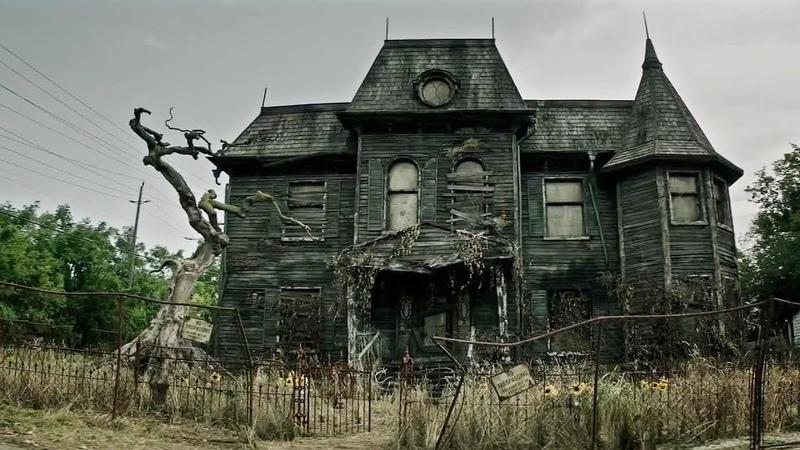 Смотреть ужасы в заброшенном доме зарубежный фильм кино ужастик таинственная и страшная сила