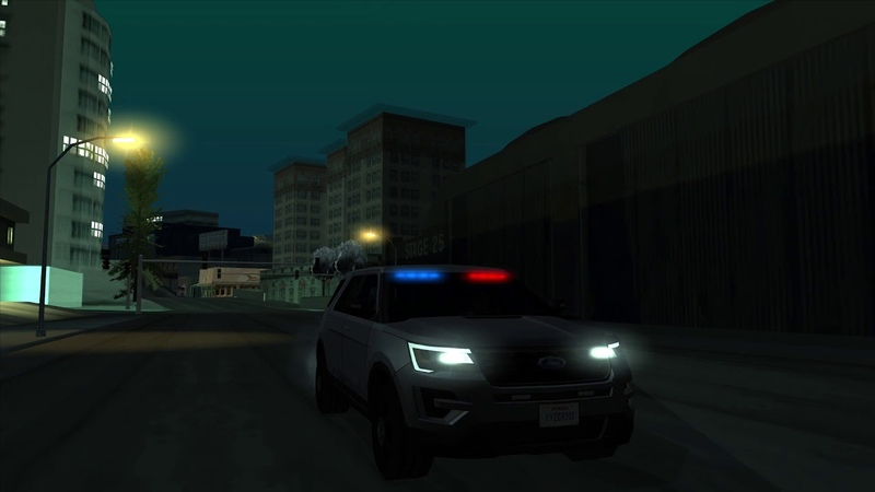 [AVS] Official Advanced Vehicle Sirens LSPD Ford P.I. Utility Unmarked