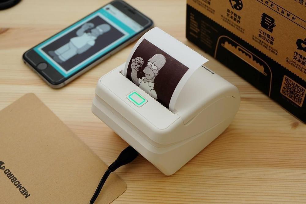 Wi-Fi термопринтер -