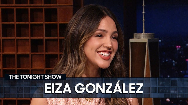 Eiza González Auditioned for Robert Rodriguez in a Wedding Dress The Tonight Show