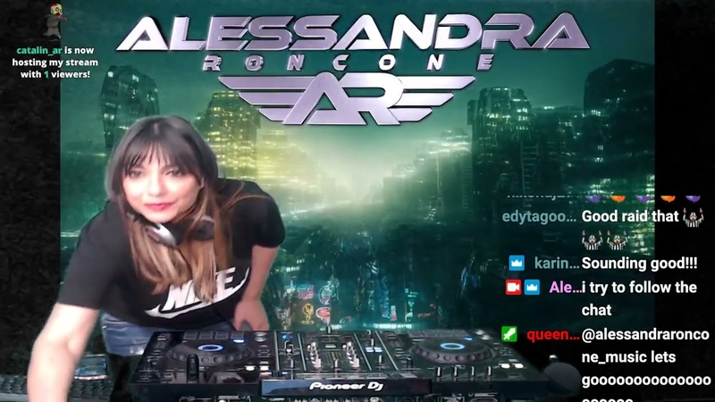 Alessandra Roncone Live Test On Twitch April 25th 2021