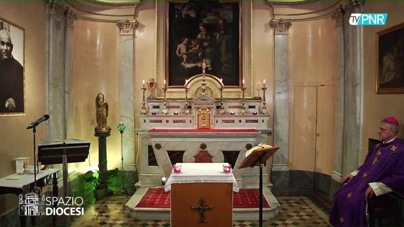 S. Messa per tutti i defunti dalla Cappella dellEpiscopio di Tortona venerdì 27 marzo 2020